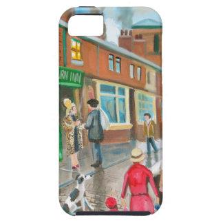 Coronation Street oil painting iPhone SE/5/5s Case