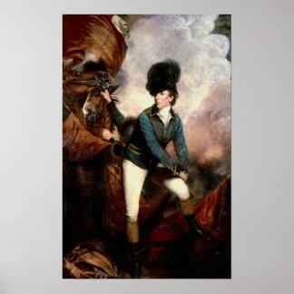 Coronel Banastre Tarleton 1782 Poster