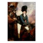 Coronel Banastre Tarleton 1782 Tarjeta De Felicitación