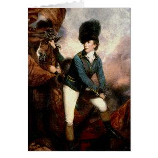 Coronel Banastre Tarleton 1782 Tarjeta