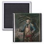 Coronel Benedicto Arnold, pub. Londres, 1776 Imán Cuadrado