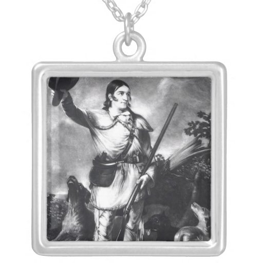 Coronel Davy Crockett Colgante Cuadrado