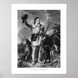 Coronel Davy Crockett Póster