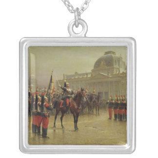 Coronel de La Rochetulon Collar Plateado