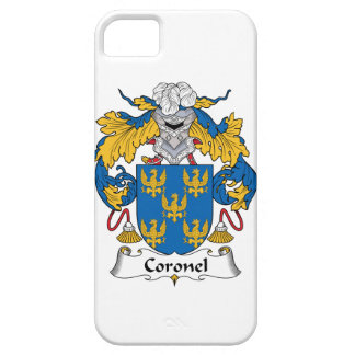 Coronel Family Crest iPhone 5/5S Cover