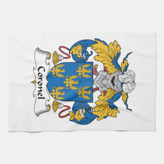 Coronel Family Crest Kitchen Towels
