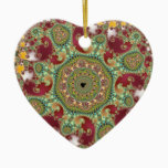 Coronel - Fractal Ceramic Ornament