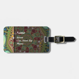 Coronel - Fractal Luggage Tag