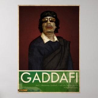 Coronel Gaddafi Posters