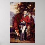 Coronel George de sir Joshua Reynolds Posters
