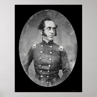Coronel James Duncan Daguerreotype 1844 Póster