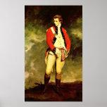 Coronel John Hayes Leger de sir Joshua Reynolds Poster