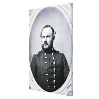 Coronel Juan M. Chivington (foto de b/w) Impresión En Lienzo Estirada
