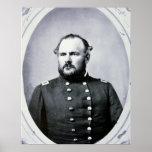Coronel Juan M. Chivington (foto de b/w) Posters