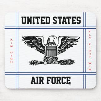 Coronel O-6 Col de la fuerza aérea Mousepads