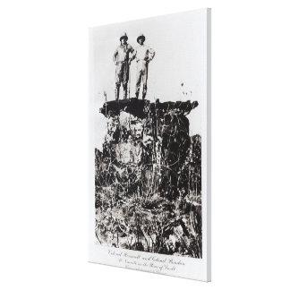Coronel Roosevelt y coronel Rondon en Navaite Impresión En Lienzo