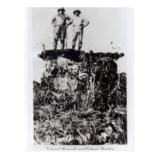 Coronel Roosevelt y coronel Rondon en Navaite Tarjeta Postal