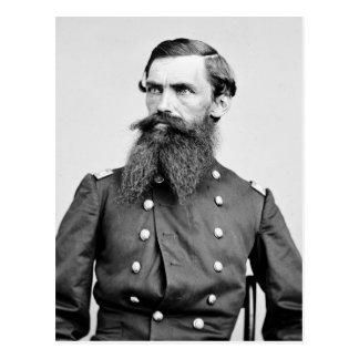 Coronel Strother, 3ro caballería de WV, 1860s Postal