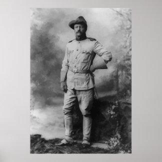 Coronel Teddy Roosevelt Póster