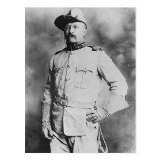 Coronel Theodore Roosevelt, 1898. Postal