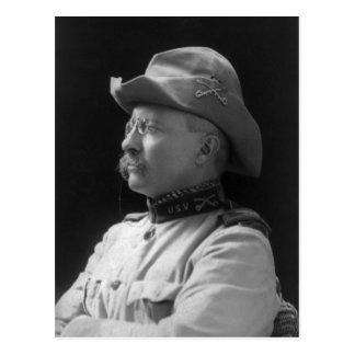 Coronel Theodore Roosevelt a partir de 1898 Tarjetas Postales