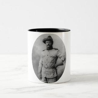Coronel Theodore Roosevelt Taza De Dos Tonos