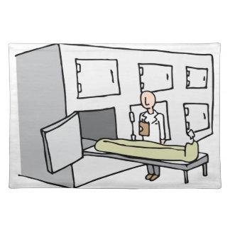 Coroner Morgue Room Placemat