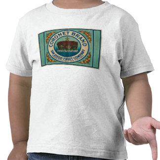 Coronet Lemon LabelChula Vista, CA T-shirt