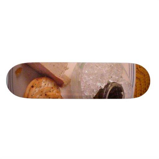 Coronilla de pato del caviar del brie de la acción tablas de patinar