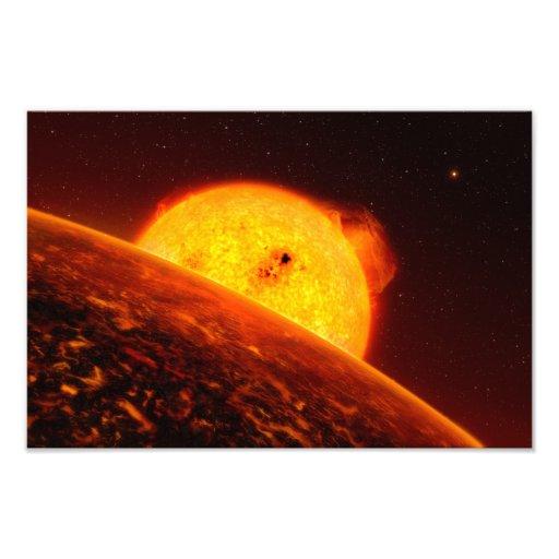 Corot-7B Space Art Illustration Photo