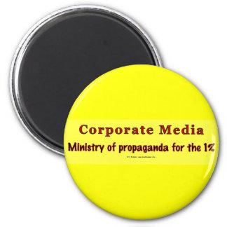 CorpMediaMinProp 2 Inch Round Magnet