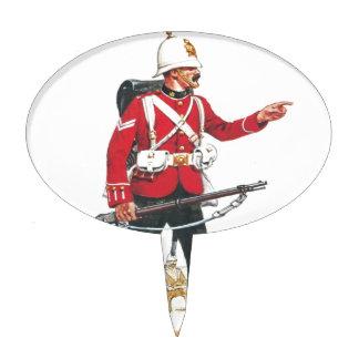 Corporal, Royal Scots, Lothian Regiment Cake Toppers