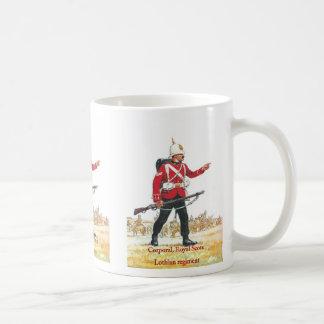 Corporal, Royal Scots, Lothian Regiment Classic White Coffee Mug