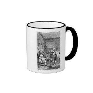 Corporal Trim reading a sermon Coffee Mug
