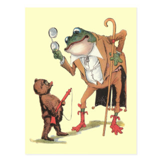 Corporal Waddle Captures the Frogman Postcard