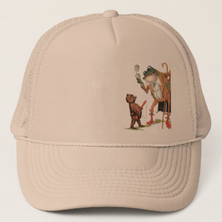 Corporal Waddle Captures the Frogman Trucker Hat
