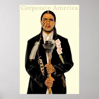 Corporate America Poster