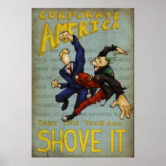 Corporate America Tour Poster