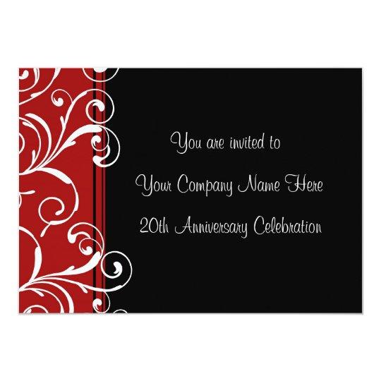 Corporate anniversary party invitations zazzle corporate anniversary party invitations stopboris Gallery