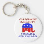 Corporate Bailouts Keychain