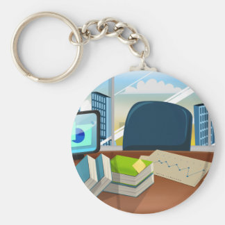 Corporate Bankers Office Keychain