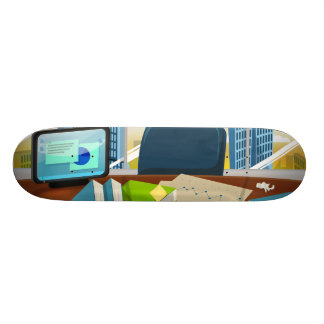Corporate Bankers Office Skateboard