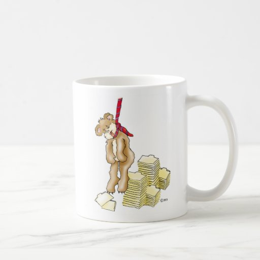 "Corporate Bear, ""Corporate"" Coffee Mugs"