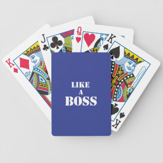 Corporate Boss Bicycle Playing Cards