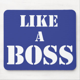 Corporate Boss Mouse Pad