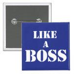 Corporate Boss Pinback Button
