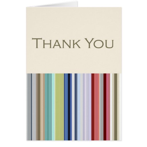 Corporate Business Thank You Card