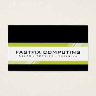CORPORATE CARD modern hi-tech zing