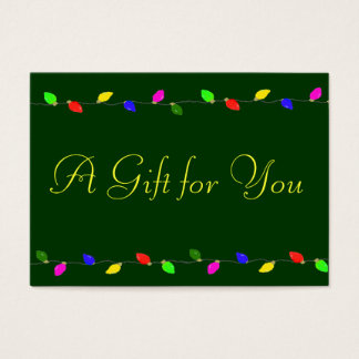 Corporate Christmas Gift Certificate
