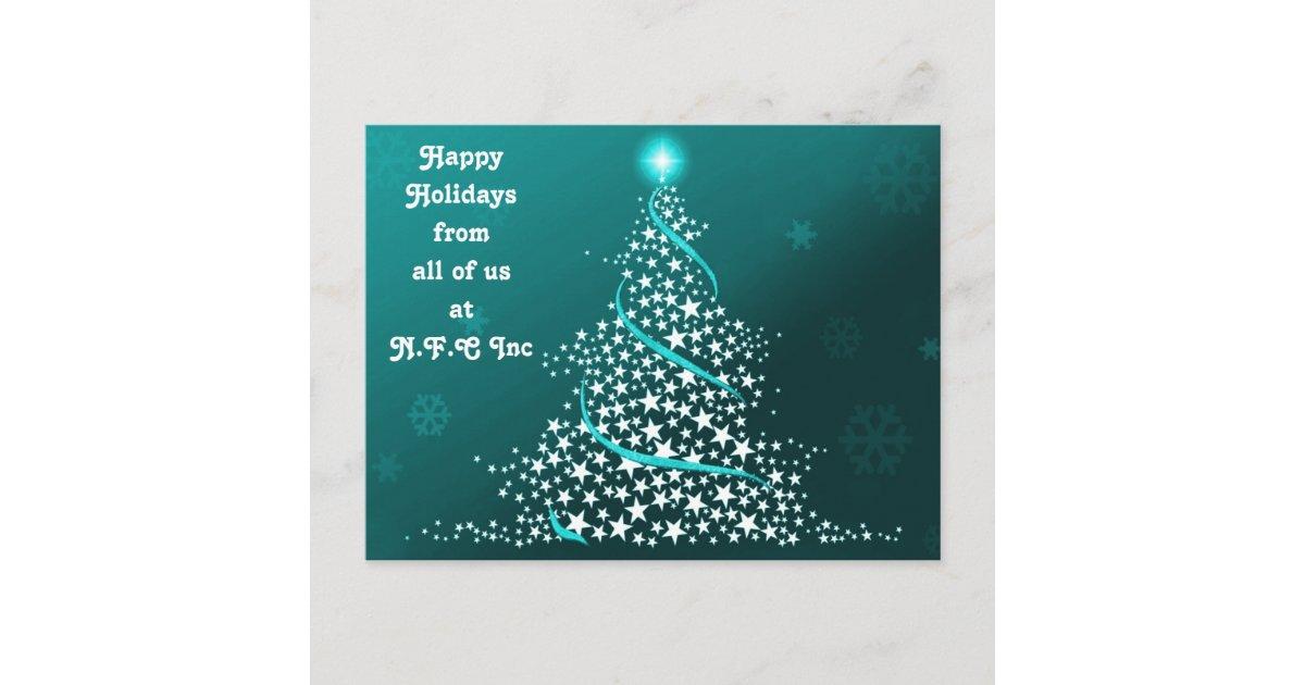 Corporate christmas greeting postcards m4hsunfo